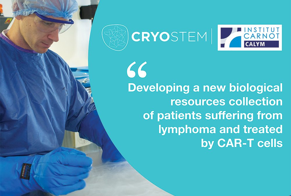 CRYOSTEM shares its expertise in biobanking network to fight lymphoma