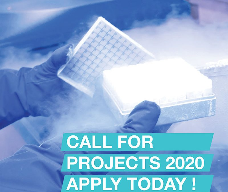 Launching CRYOSTEM Annual Call for Projects 2020