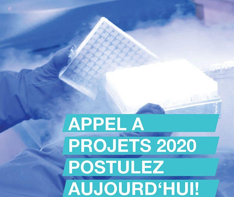 Lancement de l'appel à projets CRYOSTEM 2020