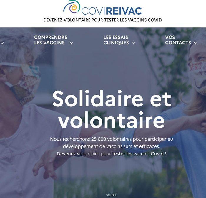 25 000 volontaires français sont appelés à tester les vaccins contre le Covid-19